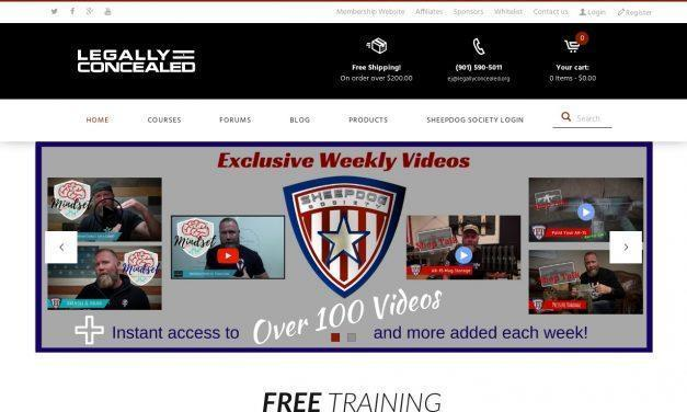 Legally Concealed – Online Firearm Training Center