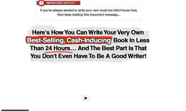 24 Hour Book – How To Write A Book In Less Than 24 Hours!