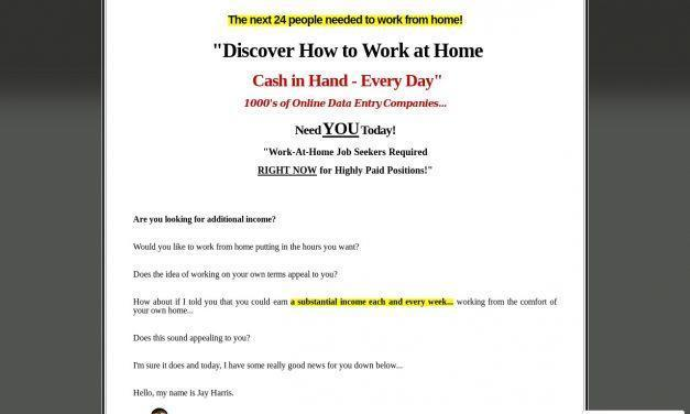 Work at Home Sites – Over 2,500 Companies Listed!