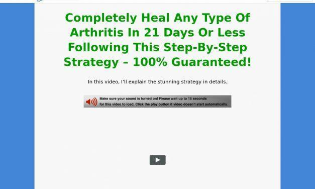 The Beat Arthritis Strategy vsl cb | Blue Heron Health News