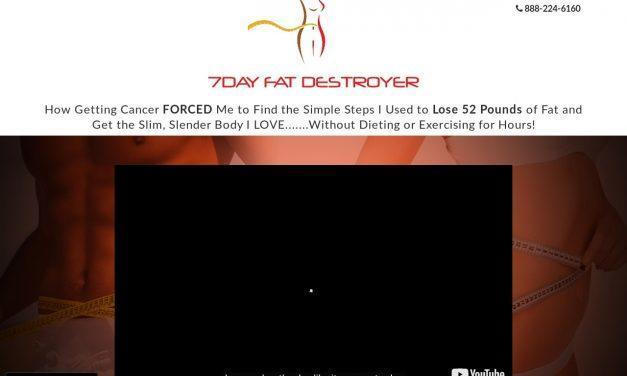 7 Day Fat Destroyer