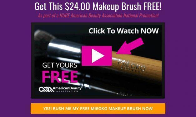 FREE Mieoko Kabuki Brush From The American Beauty Association — Beauty Association