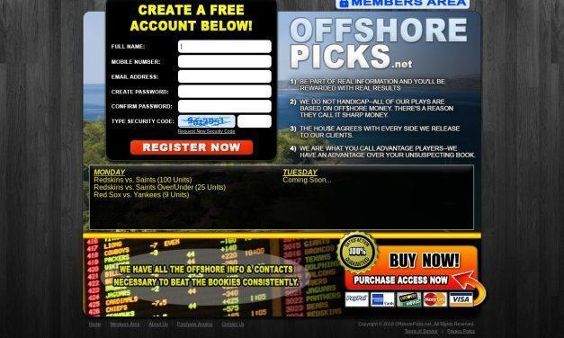 OffshorePicks.net – Sports Handicapping Service – Sports Betting Picks