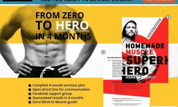 Super Hero Home Workout