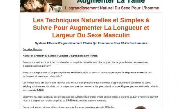 Comment Agrandir Le Sexe Masculine Naturellement, En Faisant Des Exercices | Agrandissement Naturel Du Penis