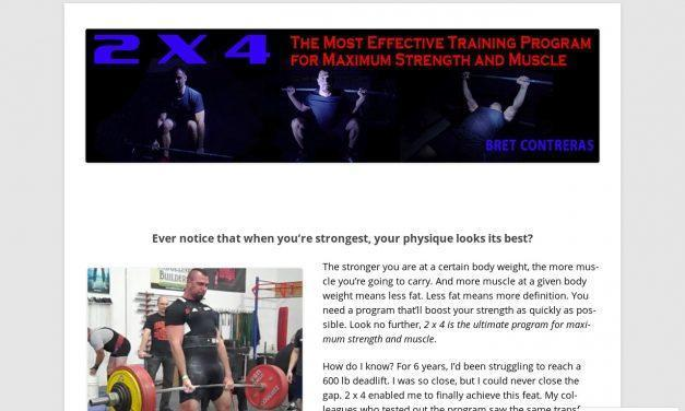 2x4strength   If You Desire Greater Strength and Better Results