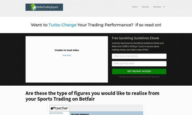 Football Trading System on Betfair | Betfair Trading Expert