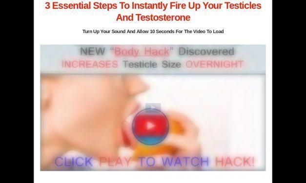Secrets To getting Big Testicles | Get Bigger Testicles And More Testosterone