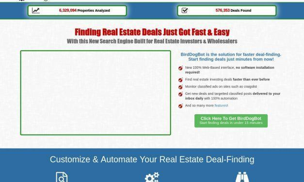 BirdDogBot – The Search Engine for Real Estate Investors