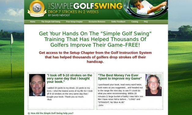 Free Setup Chapter | The Simple Golf Swing