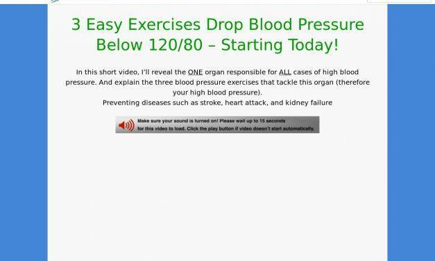 Blood Pressure Exercises VSL cb | Blue Heron Health News