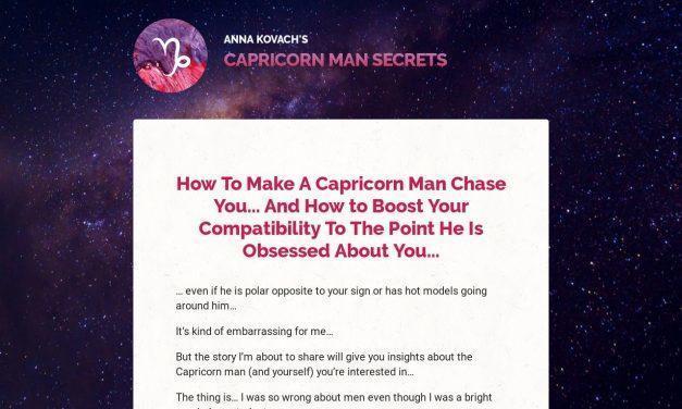 Capricorn Man Secrets — Put That Hot Capricorn Man Under Your Spell