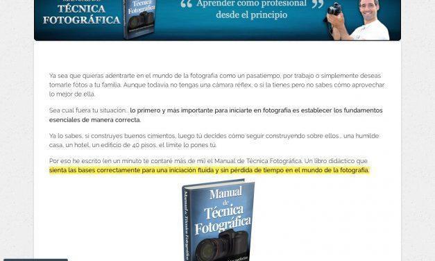 Manual de Técnica Fotográfica – Inicio – Manual de Técnica Fotográfica