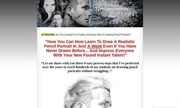 Pencil Portrait Tutorial- How Beginners Learn To Draw Pencil Portraits Quickly And Easily