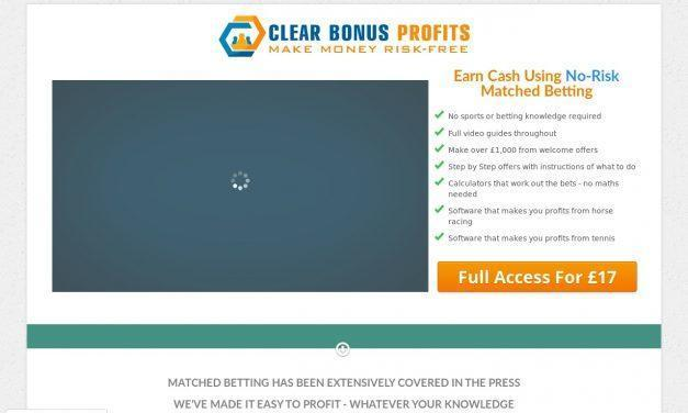 Matched Betting Easy – Clear Bonus Profits –