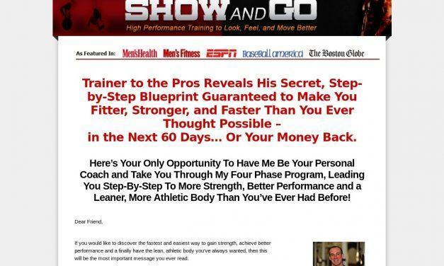 Show and Go Training by Eric Cressey   Show and Go Training by Eric Cressey