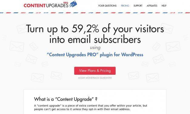Content Upgrades Pro: Create Content Specific Bonuses » WordPress Plugin To Get More Email Subscribers