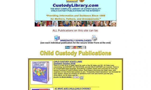 Top Child Custody Site Offers Free Resources