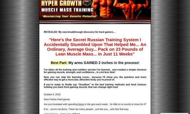 Hyper Growth Muscle Mass Training – Muscle Growth Building