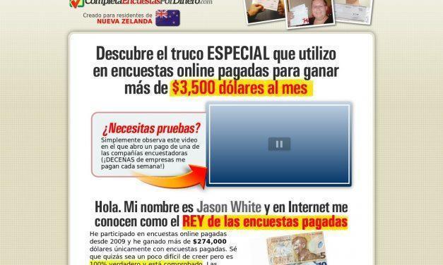 ¡Completa Encuestas Por Dinero!