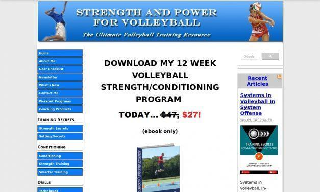 Volleyball Training Programs | #1 World Wide Volleyball Strength Program
