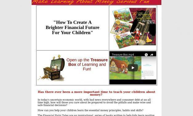 Kids and Money – The Financial Fairy Tales Treasure Box