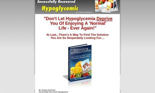 Overcoming Hypoglycemia – Ebook Guide