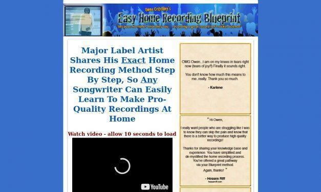 How to Record Your Songs – Major Label Artist's Secrets for Hit-quality Home Recording. Easier and Cheaper Than You Ever Imagined