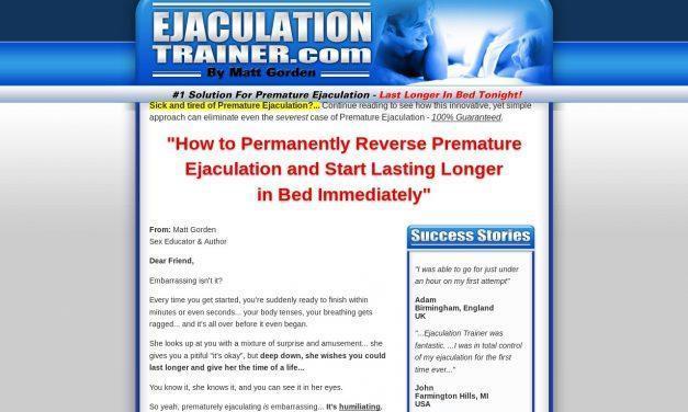 Ejaculation Trainer – Official Website