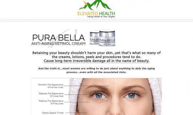 Pura Bella – Anti-Aging Retinol Cream