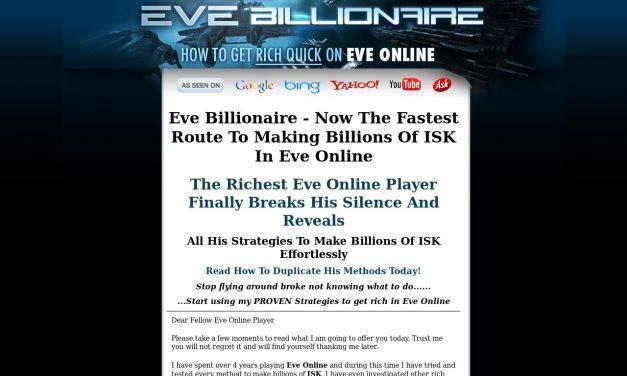 Eve Billionaire – Isk Making Guide