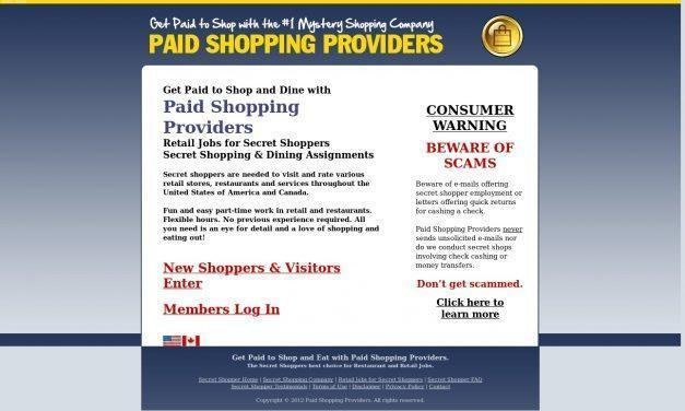 Get Paid to Shop and Eat | Retail Jobs and Restaurant Work for Secret Shoppers