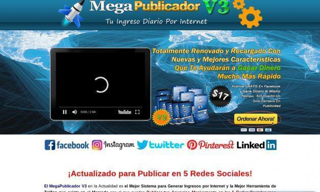 MegaPublicador 2.0 – OFERTA LIMITADA