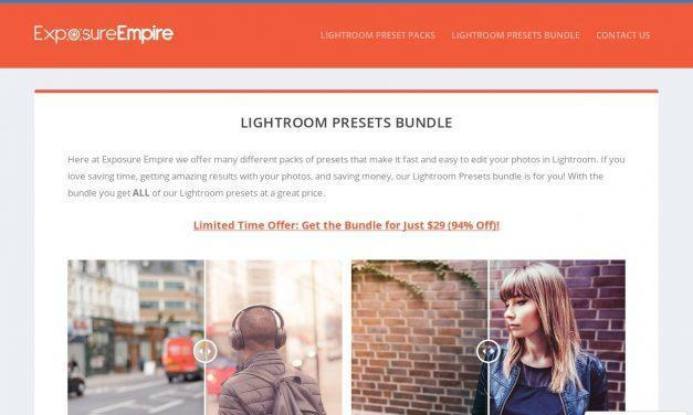 Lightroom Presets Bundle – Exposure Empire