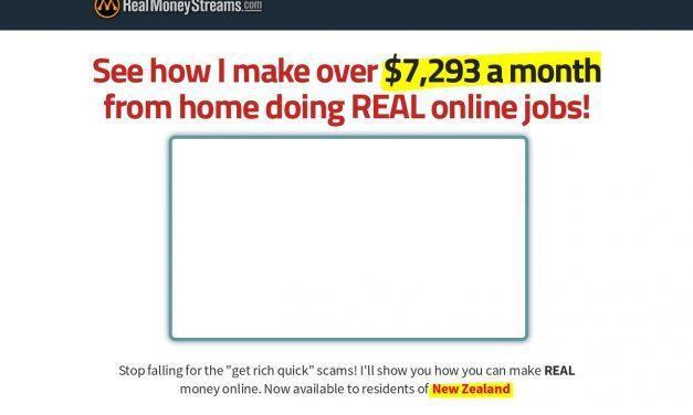 Learn the art of multiple online incomes through Real Money Streams