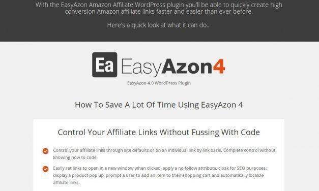 EasyAzon v4 – The #1 Amazon Affiliate WordPress Plugin