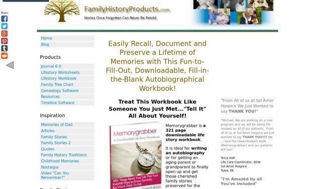 Write Your Life story With a Fill-in-the-Blank Workbook – Memorygrabber