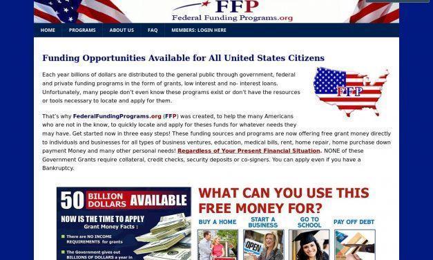 Home – FederalFundingPrograms.org