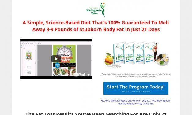 (3) The 3-Week Ketogenic Diet | Official Website | Lose Weight In 3 Weeks Using A Ketogenic Diet