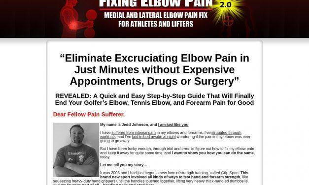 Elbow Pain? Tennis Elbow? Golfers Elbow? Get LASTING Relief   Fixing Elbow Pain