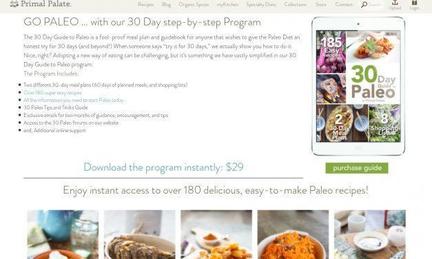 30 Day Guide to Paleo Meal Plan – Primal Palate | Paleo Recipes