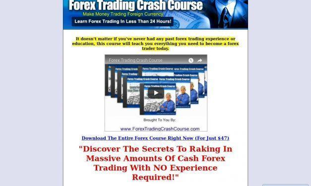 Forex Trading Crash Course, FX Trading Course