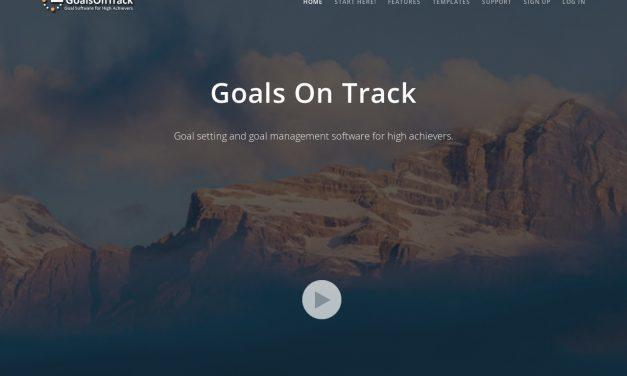 GoalsOnTrack – Goal Software for High Achievers