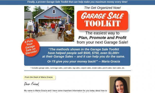 GON Garage Sales Toolkit