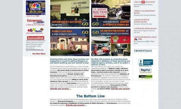 GovernmentAuctions.org® — Government Auctions & Bank Foreclosures — All in One!