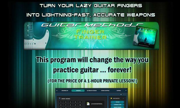 Turn your lazy guitar fingers into lightning-fast, accurate weapons