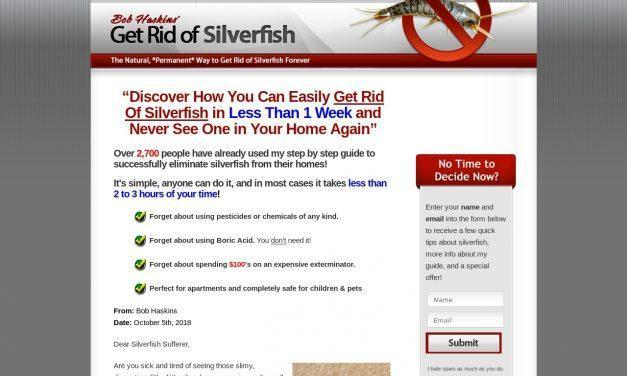 Get Rid of Silverfish – A Step by Step Guide by Bob Haskins