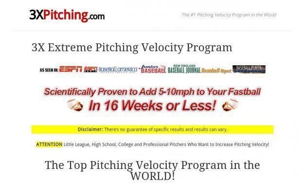 3X Extreme Pitching Velocity Program – 3X Pitching Velocity Program