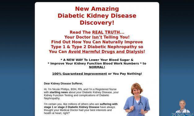 Renal Diabetic Diet Reverses Diabetic Kidney Disease