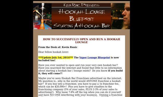 Hookah Bar Blueprint – How to Start a Hookah Bar